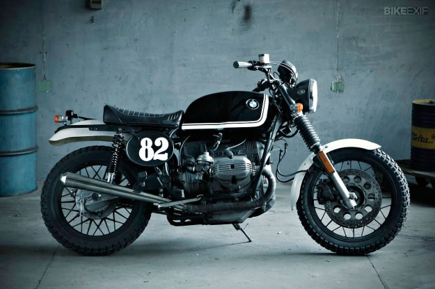 Scrambler motorcycle by Fuel