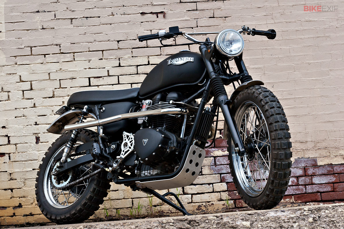 How To Build A Scrambler Motorcycle Bike Exif