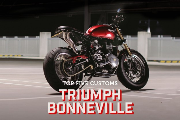 Triumph Bonneville customs