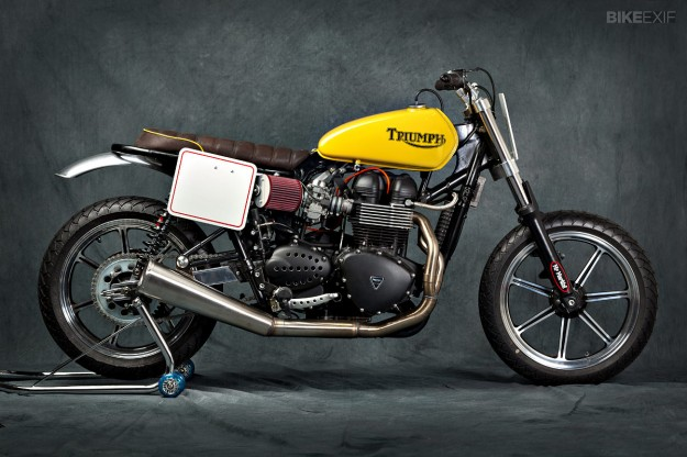 Triumph Bonneville custom by Mr Martini