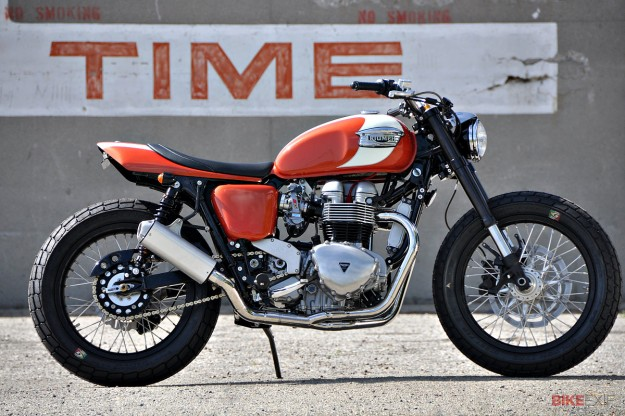 Triumph Bonneville custom by Mule