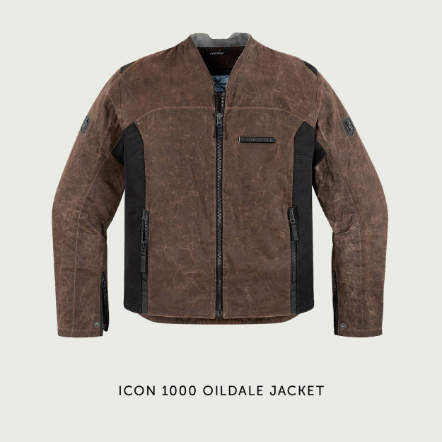 Icon 1000 motorcycle jacket