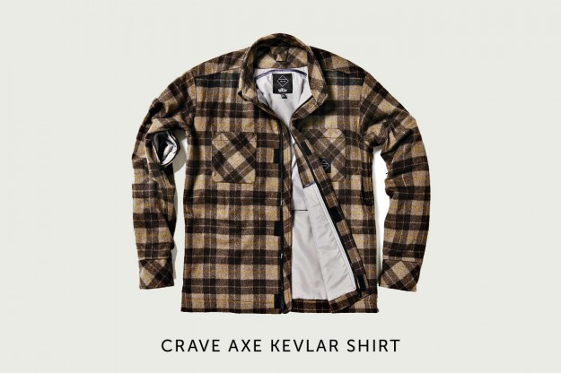 Motorcycle gear: kevlar shirt