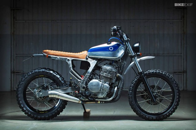Honda NX650 by Kiddo Motors