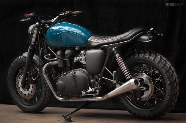 Triumph Thruxton 900 by the Wrenchmonkees
