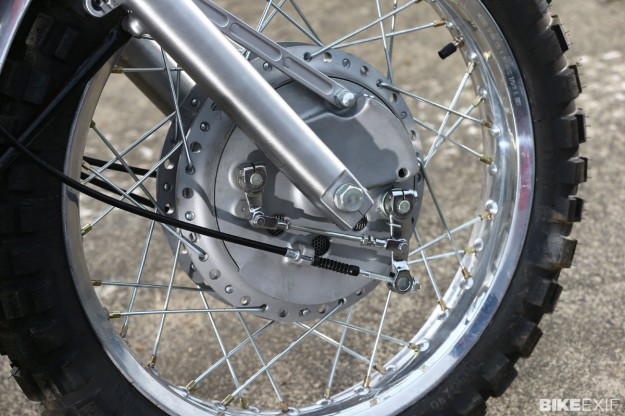 Kawasaki W650 tracker by James Whitham