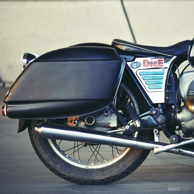 BMW R60/5 custom motorcycle
