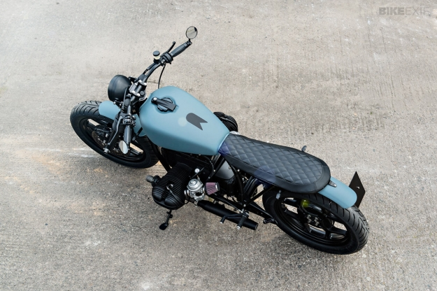 Brat style BMW R80 custom motorcycle by Urban Motor of Berlin