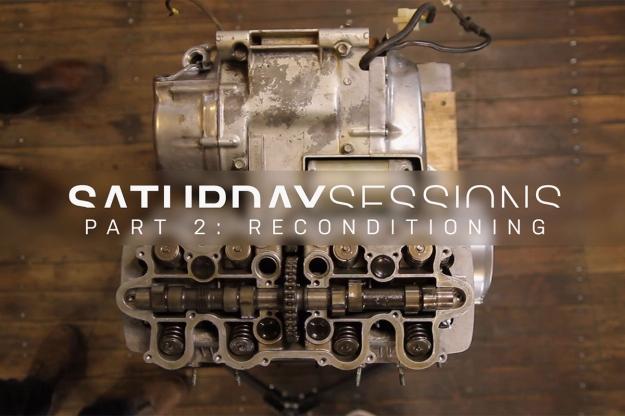 Motorcycle restoration: reconditioning