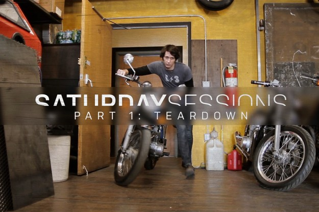 Motorcycle restoration: the teardown