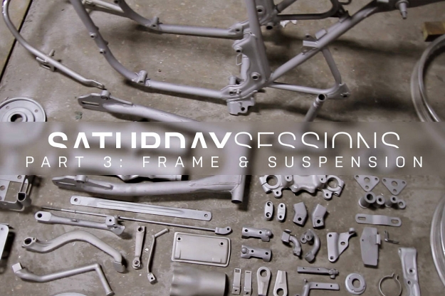 Motorcycle restoration: the frame and suspension