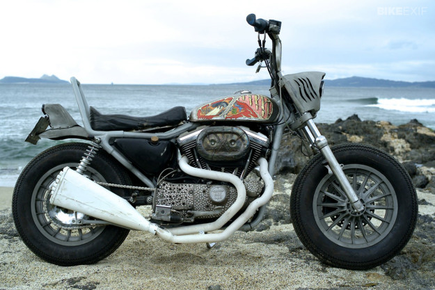 Sportster 1200 custom by El Solitario MC