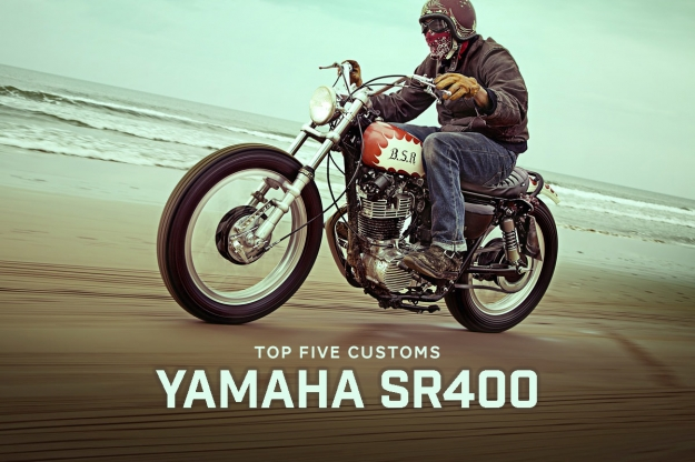 Top 5 Yamaha SR400 custom motorcycles