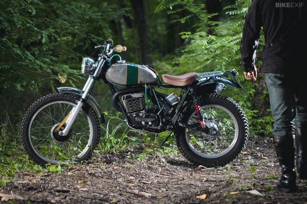 Customized SWM 320TL 2-stroke motorcycle