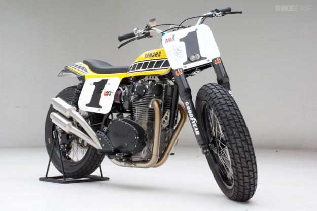 Yamaha XS650 dirt tracker by Jeff Palhegyi Design