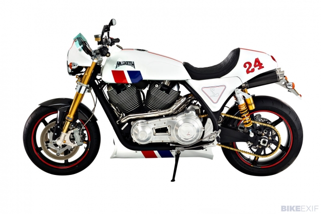 The new Hesketh motorcycle: the £35,000 '24'