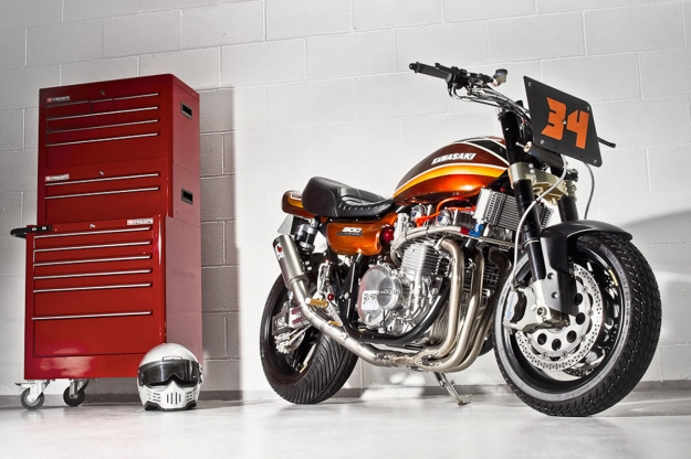 Kawasaki Z1 customized by Racefit