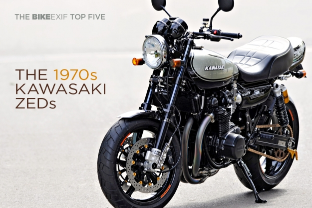 Top 5 Kawasaki Z1 and Z1000 custom motorcycles