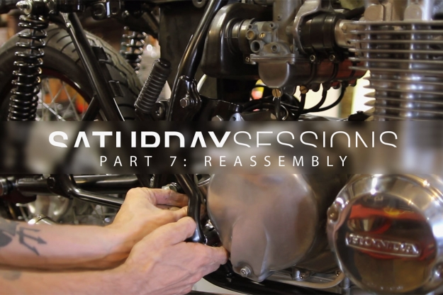 How to assemble a motorcycle during restoration