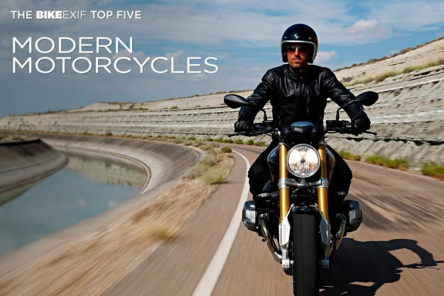 Top 5 new motorcycles