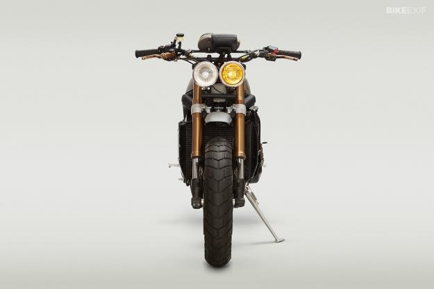 Triumph Daytona 675 motorcycle customized by John Ryland of Classified Moto.