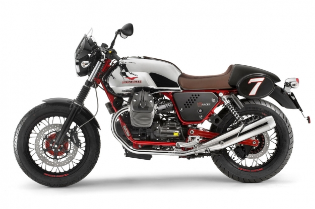 Motorcycle design: 2014 Moto Guzzi V7 Racer by Miguel Galluzzi.