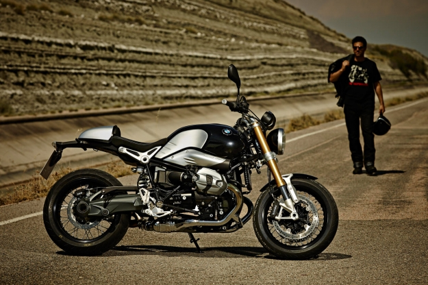 Motorcycle design: the BMW  R nineT.
