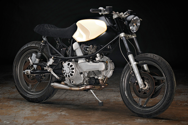 Ducati 650 Pantah customized by the Texas workshop Revival Cycles.
