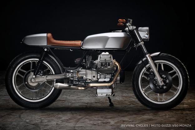 Moto Guzzi V50 custom by Revival Cycles