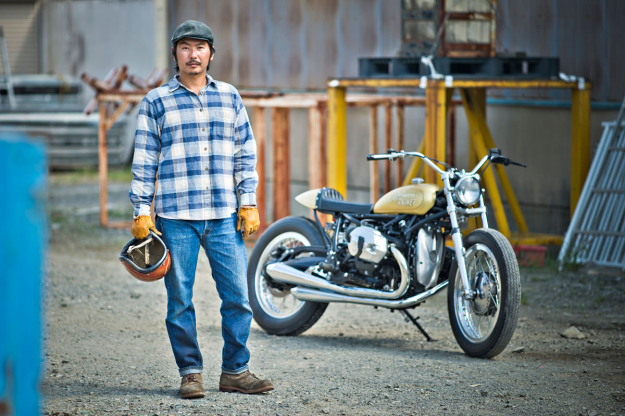 Custom motorcycle builder Go Takamine of BratStyle