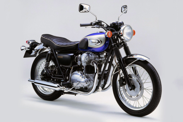 The Kawasaki W650: more 'authentic' than the current Triumph Bonneville?