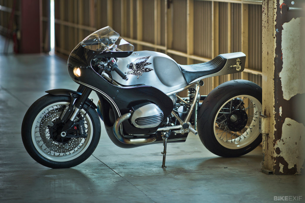 R Nine T customized by Hide Motorcycle