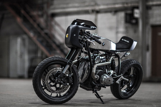 BMW R65 customized by Karl Renoult of Ed Turner Motorcycles, France.
