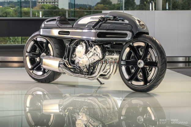 World champion custom motorcycle builder Fred Krugger created this extraordinary BMW K1600 for BMW Motorrad France.