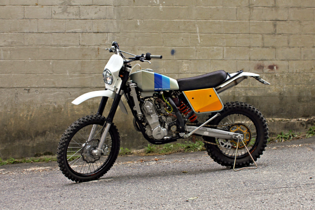 KTM 450 EXC custom motorcycle by Walt Siegl