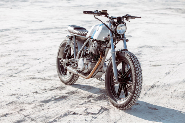 Yamaha SR500 customized by Bunker Custom Motorcycles of Istanbul