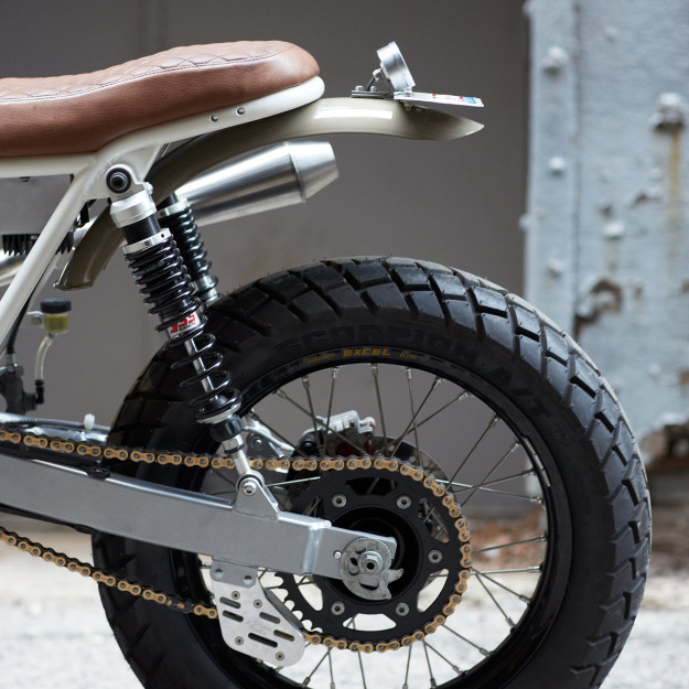 Daniel Peter's customized Honda XR650