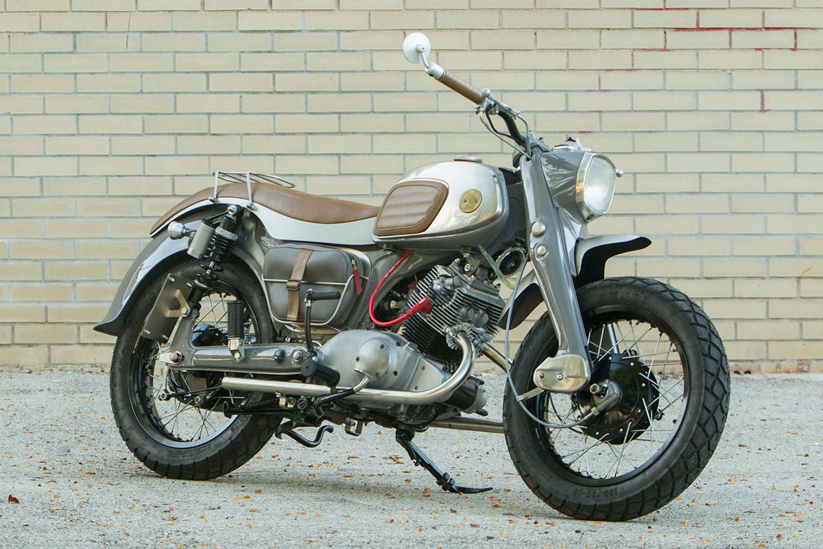 After rescuing this Honda CA95 from a barn, Dave Mucci transformed it into a stylish and practical custom.