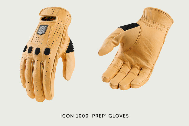 Icon 1000 Prep motorcycle gloves