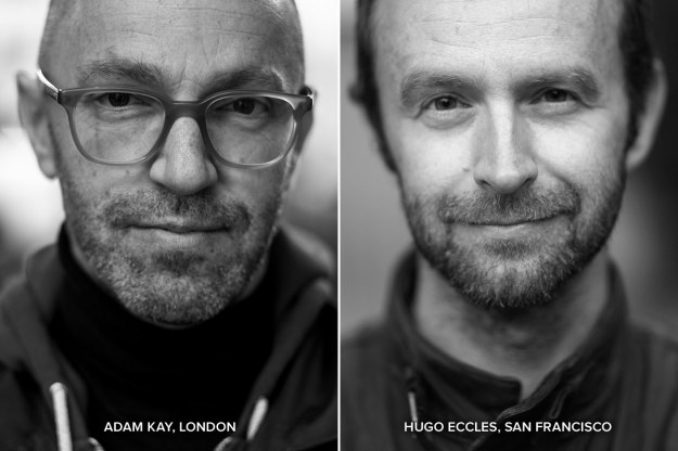 Adam Kay and Hugo Eccles of Untitled Motorcycles.