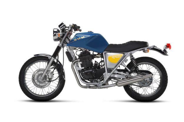 Gran Turismo by SWM Moto — the classic Italian marque returns.