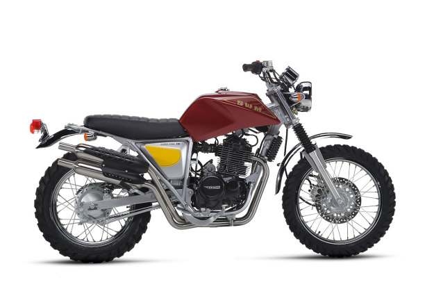 Silver Vase by SWM Moto — the classic Italian marque returns.