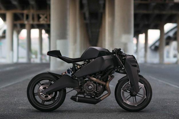 Best custom motorcycle builders: Ronin by Magpul.