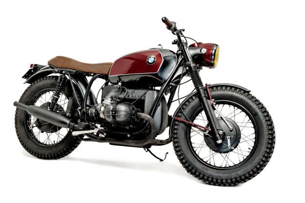 Best custom motorcycle builders: Ton-Up Garage.