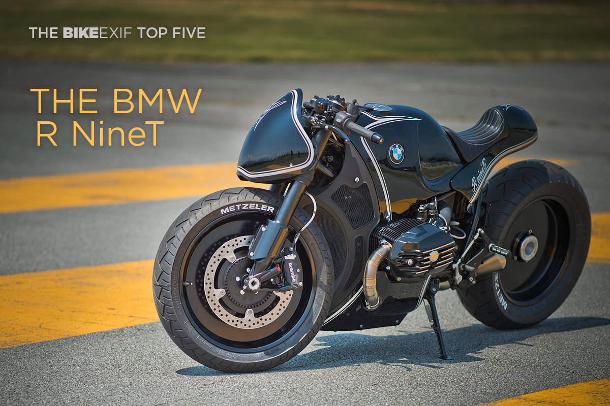 BMW's R nineT motorcycle: a smash hit with custom builders.