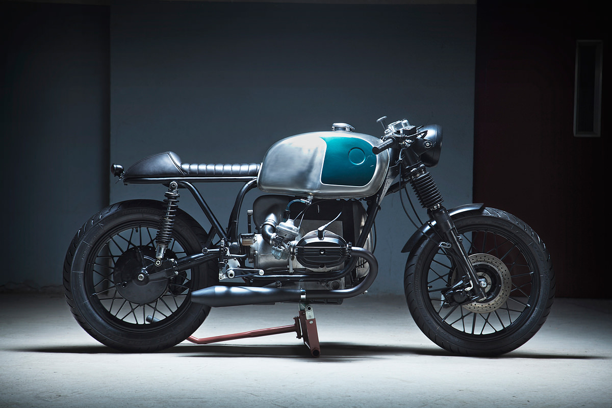 Since he established Kiddo Motors in 2010, Sergio Armet's held our attention with a steady stream of good-looking custom bikes, like this BMW R100.