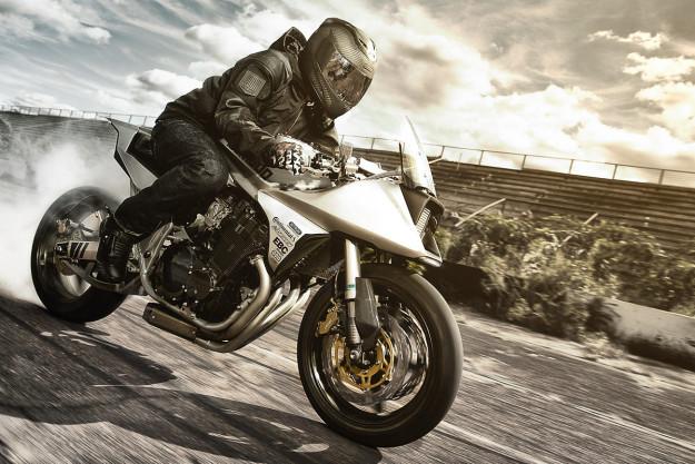 Icon 1000 Basehawk motorcycle jacket.
