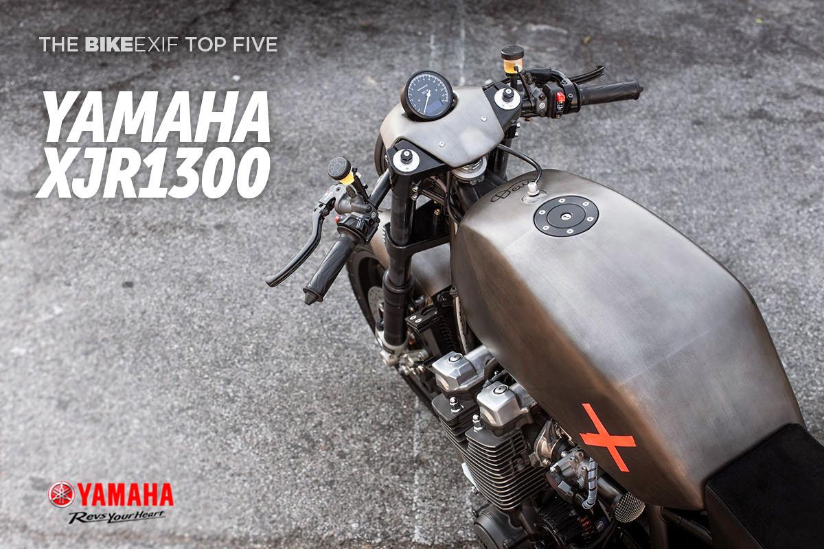 Bike EXIF's Top 5 Yamaha XJR1300 custom motorcycles.
