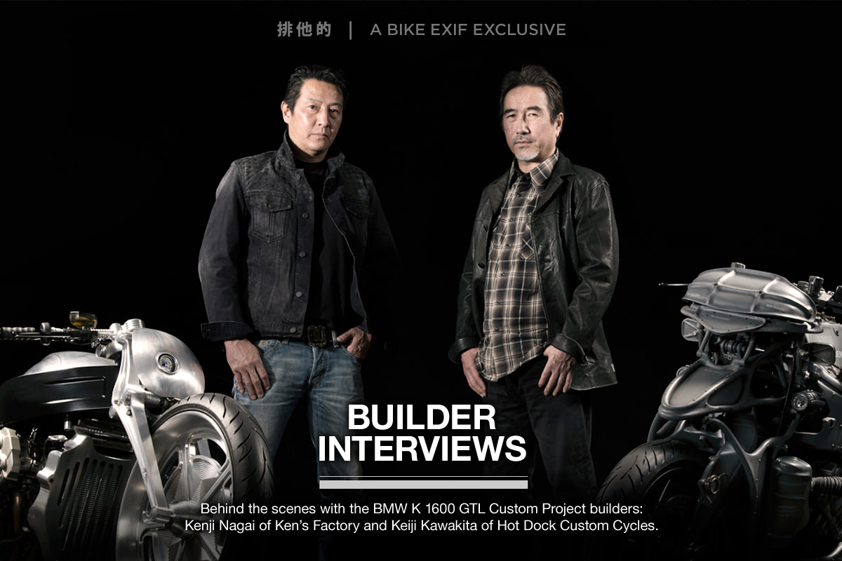 BMW K 1600 GTL Custom Project: Builder Interviews