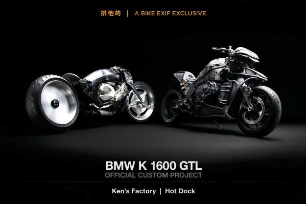 BMW K1600 GTL Custom Project